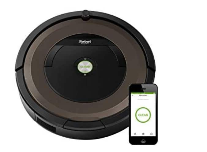 Roomba-890 افضل مكنسة ذكية من رومبا Roomba