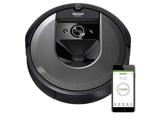 Roomba-i7 مكنسة الروبوت في ساكو