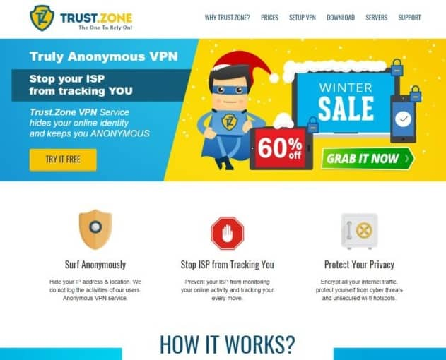 Trust.Zone_ برنامج vpn للكمبيوتر مجانا 2018