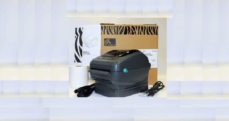 طابعة ليبل حرارية Zebra اوراق طابعة باركود