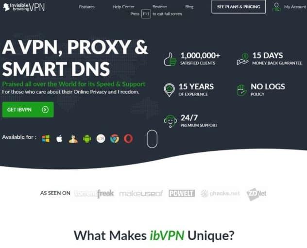 ibVPN اافضل ڤي بي إن VPN