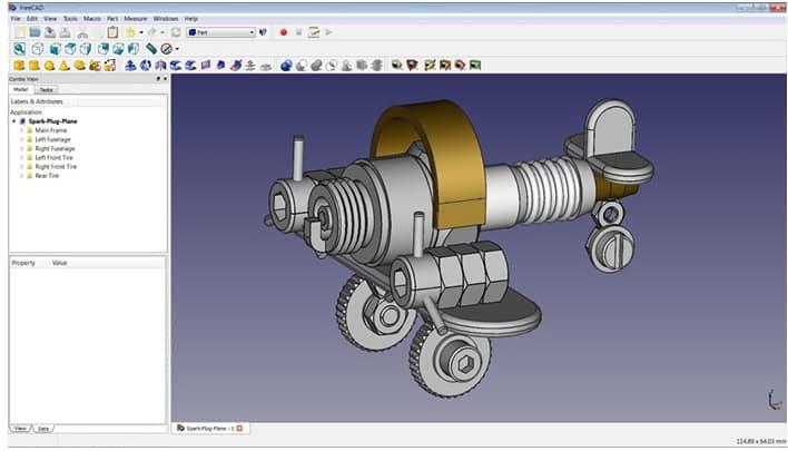 FreeCAD افضل برامج رسم ثلاثي الأبعاد