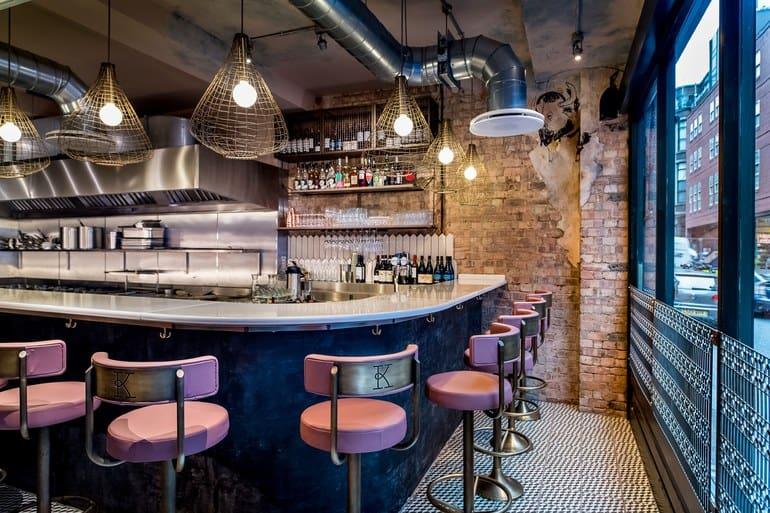 مطعم Kricket الهندي في لندن