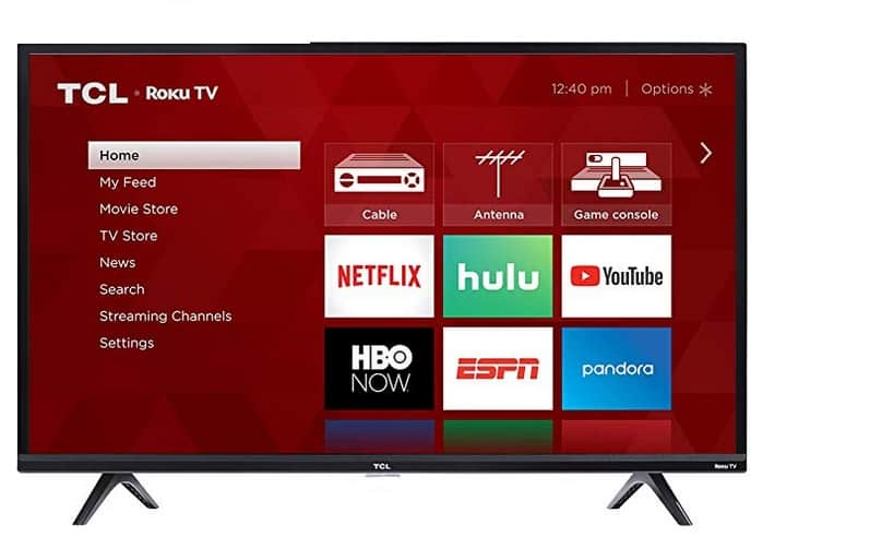 TCL S Series / S305 2018 افضل تلفزيونات تي سي إل TCL