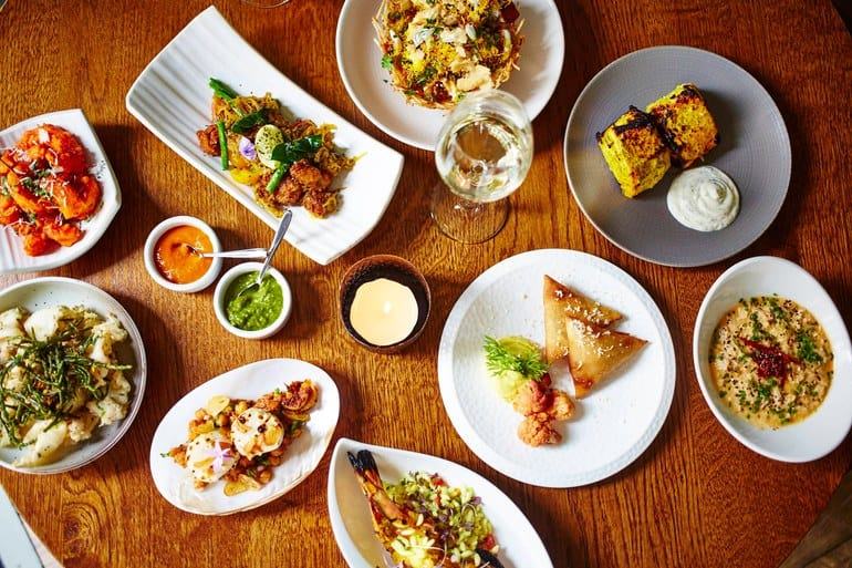 مطعم هندي في لندن مطعم Trishna