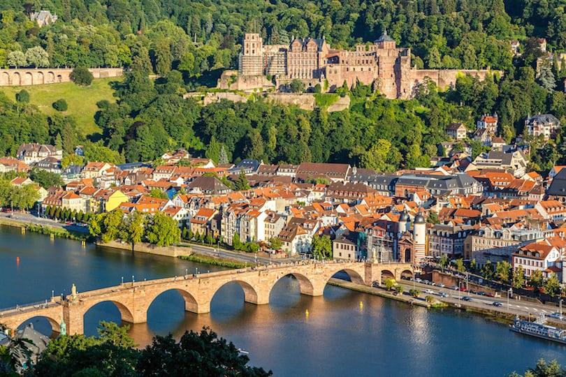 هايدلبرج من  أفضل 10 أماكن لزيارتها في ألمانيا