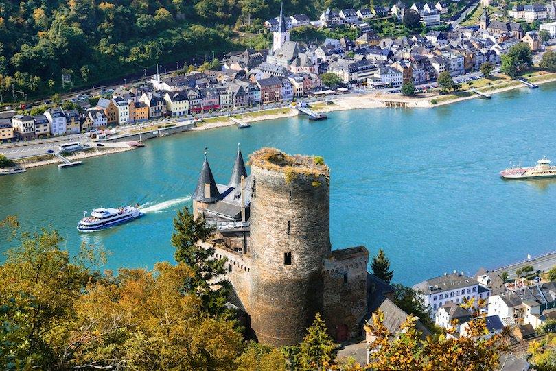 أفضل 10 أماكن لزيارتها في ألمانيا romantic_rhine