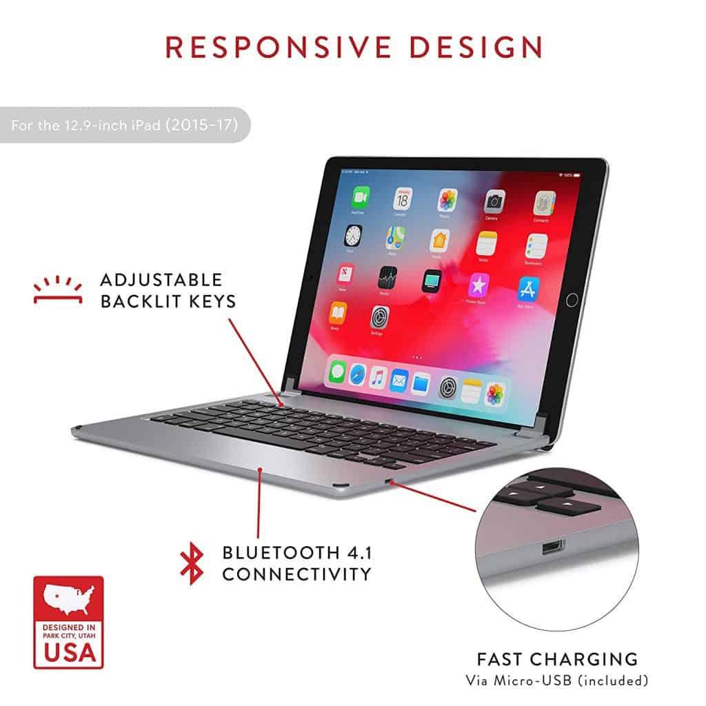 افضل كيبورد آيباد برو iPad pro