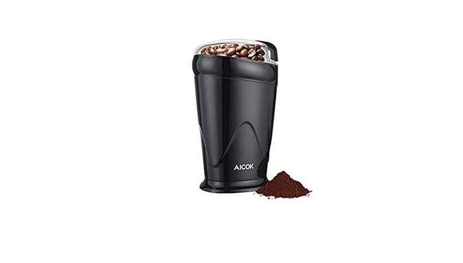 مطحنة القهوة والتوابل الكهربائية أيكوك Aicok Electric Coffee/Spice Grinder