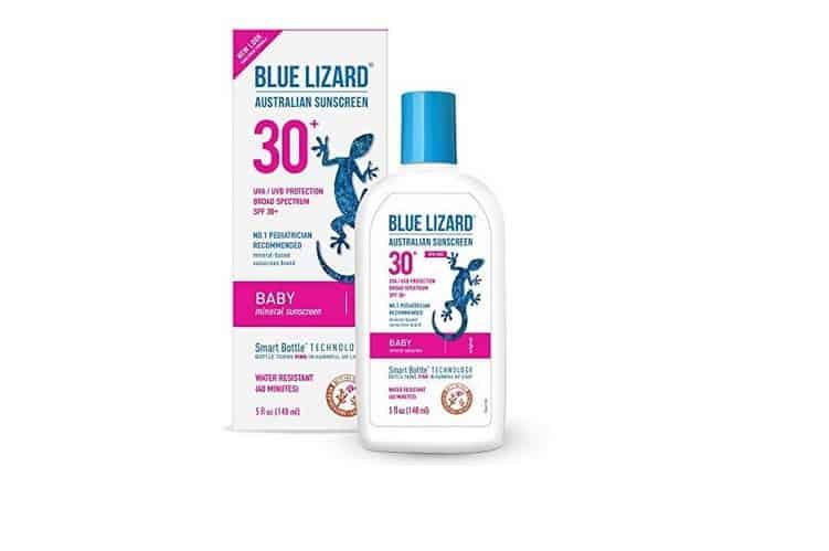 واقي الشمس الأسترالي للأطفال ( السحلية الزرقاء )Blue Lizard Australian Sunscreen Baby