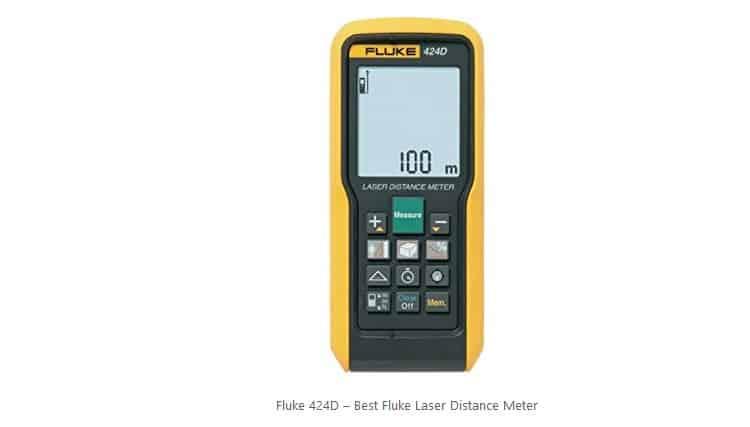 افضل جهاز ليزر لقياس المسافات افضل جهاز ليزر لقياس المسافات فلوك مقياس المسافة الليزري الاحترافي Fluke 424D