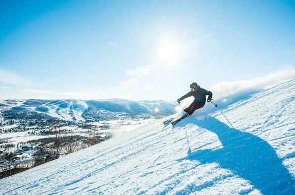 افضل منتجعات التزلج على الثلج في النرويج جيلو Geilo