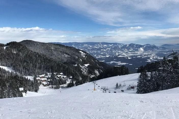 افضل منتجعات التزلج على الثلج في سلوفينيا منتجع التزلج غولتي Golte
