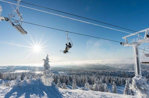 افضل منتجعات التزلج على الثلج في النرويج هافجيل Hafjell