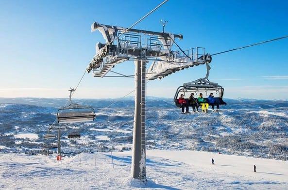 افضل منتجعات التزلج على الثلج في النرويج سكيكامبين Skeikampen
