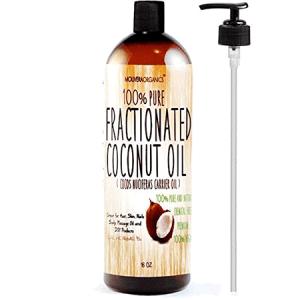 Fractionated Coconut Oil ضمن قائمة أفضل 10 أنواع من زيت جوز الهند