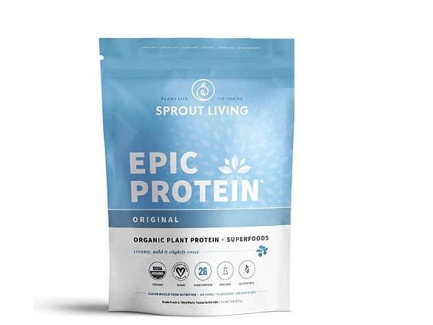 افضل بروتين لبناء العضلات للرجال فوق الخمسين: Sprout Living