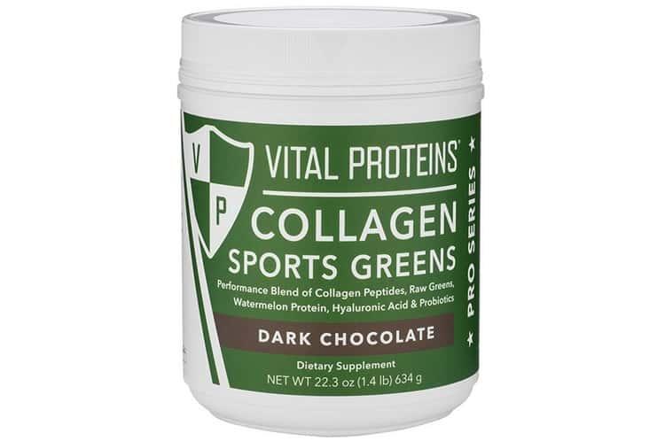 افضل بروتين لبناء العضلات بعد التمارين: Vital Proteins Sport Greens