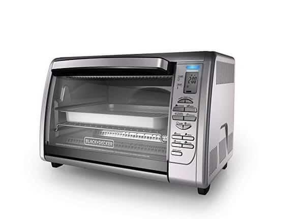 فرن التحميص من بلاك آند ديكر BLACK+DECKER Countertop Toaster Oven