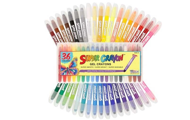 مجموعة أقلام الجل الأمريكية US Art Supply Gel Crayons