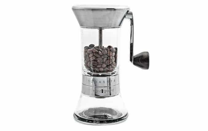 افضل مطحنة قهوة يدوية مطحنة القهوة الخزفية اليدوية هاندجراوند Handground