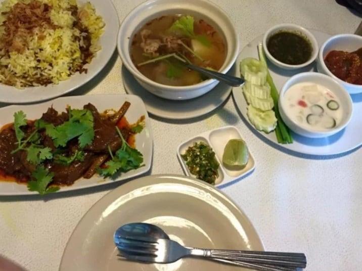افضل مطاعم حلال في بانكوك المطعم الاسلامي Home cuisine