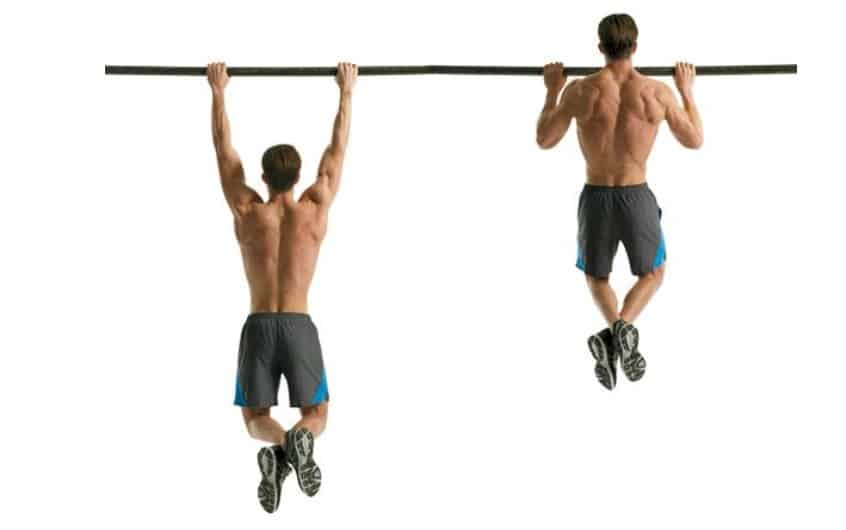 تمرين الظهر  Pullup or Chinup Variations
