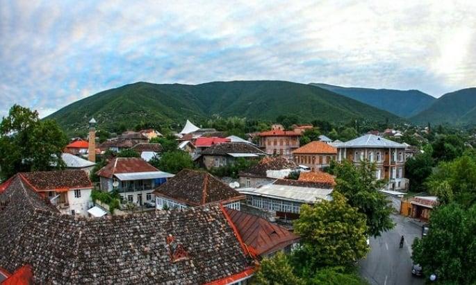 أفضل ريف في أذربيجان شيكي Sheki