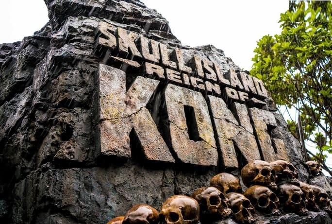جزيرة الجمجمة: عهد كينغ كونغ في جزر المغامرة