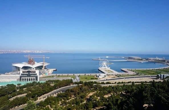 أفضل ريف في أذربيجان بحر قزوين Caspian Sea