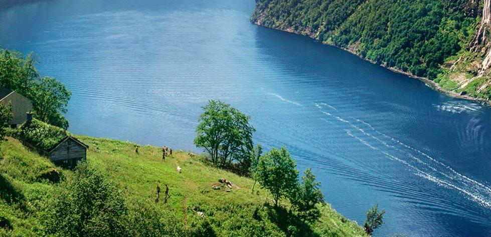 جيرانجير فجورد  Geirangerfjord