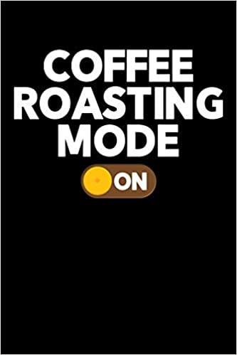 كتاب Coffee Roasting Mode  مذكرة القهوة