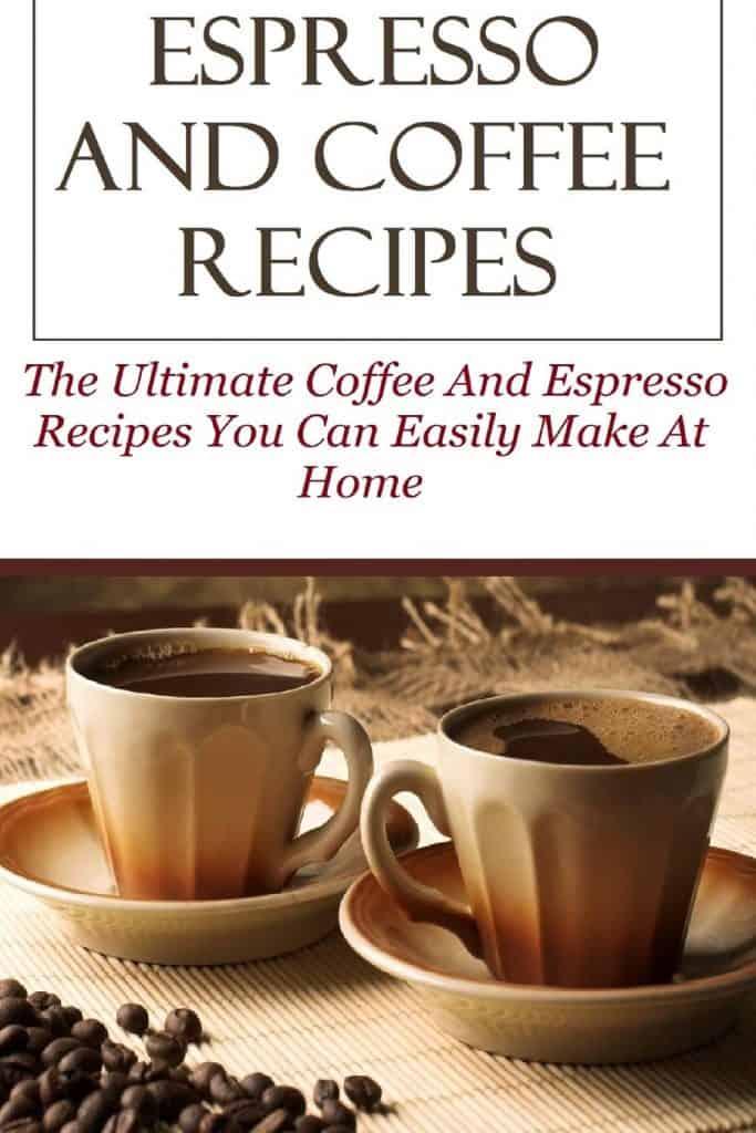 كتاب Espresso And Coffee Recipes دليل الإسبريسو والقهوة