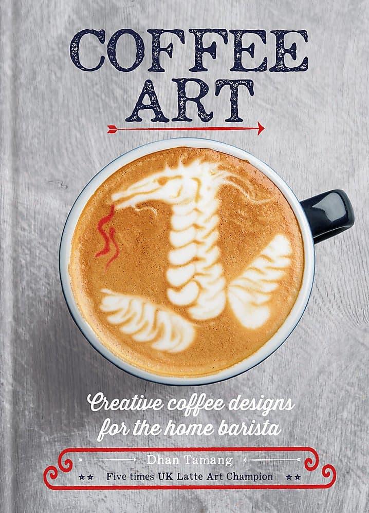 كتاب Coffee Art دليل فنون القهوة  من افضل الكتب عن القهوة