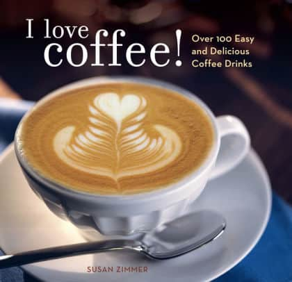 كتاب I Love Coffee دليل أنا احب القهوة من أفضل الكتب عة الباريستا وإعداد القهوة