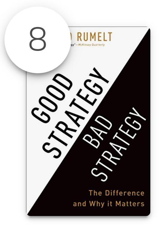 أفضل الكتب في إستراتيجيات الأعمال