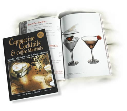 كتاب Cappuccino Cocktails Specialty Coffee Recipes  دليل الكابتشينو