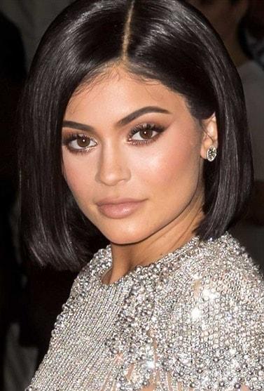 افضل تسريحات للشعر القصير قصة بوب أنيقة لكايلي جينر Perfectly Sleek Bob On Kylie Jenner