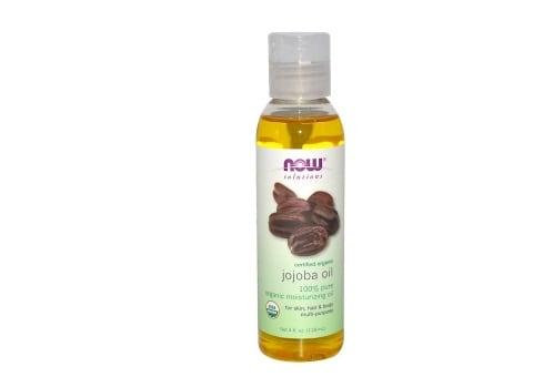 محلول عضوي مرخص ، زيت الجوجوبا Now Foods افضل منتجات اي هيرب لتطويل الشعر