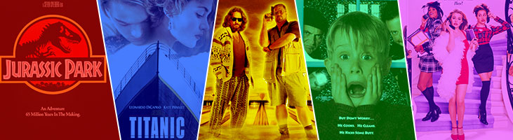 افضل افلام التسعينات