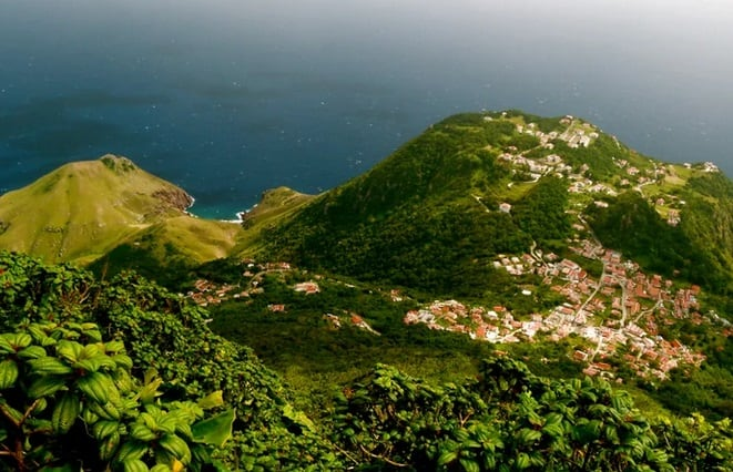افضل جزر الكاريبي Saba سابا
