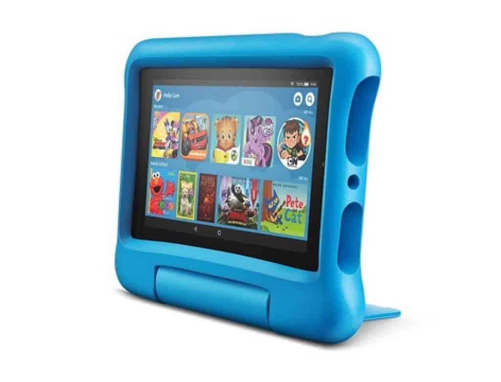 الأكثر متانة: Amazon Fire 7 Kids Edition Tablet افضل تابلت للاطفال