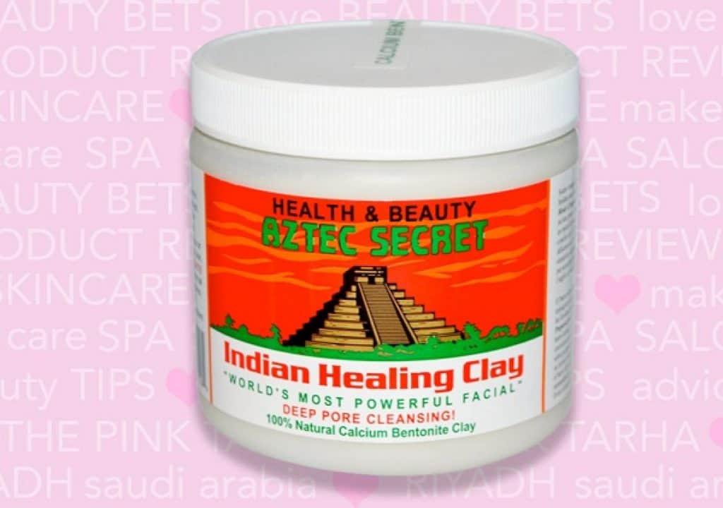 ماسك الطين الهندي أزتيك سيكرت Aztec Secret Indian Clay  افضل منتجات اي هيرب للبشرة الحساسه والدهنية