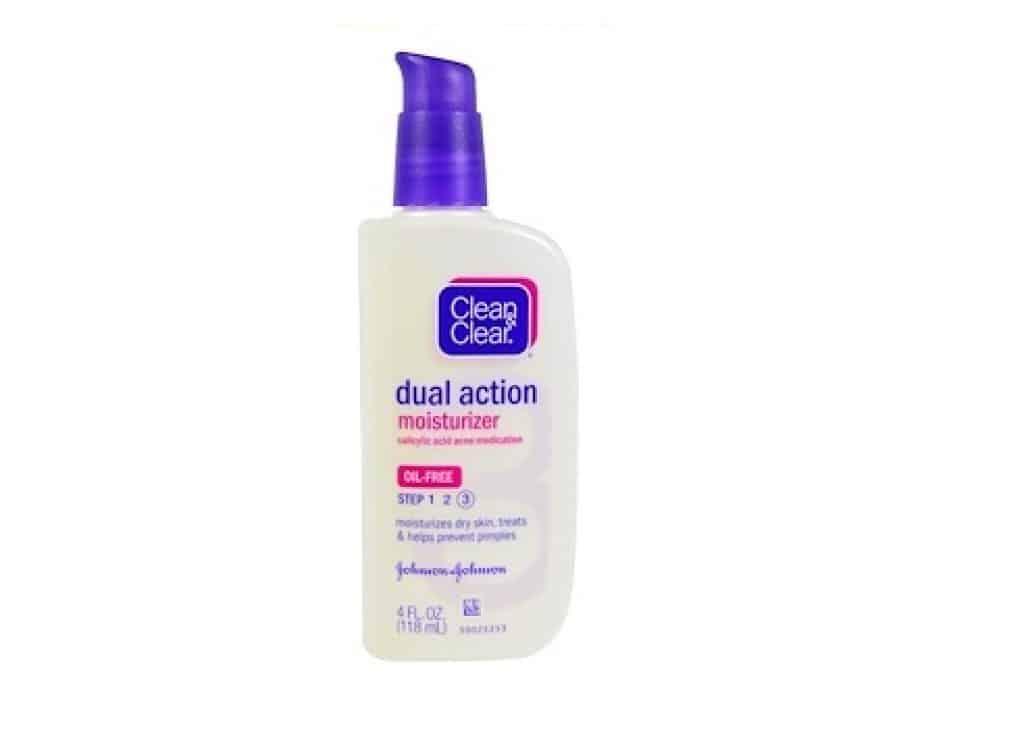 مرطب daul action من Clean & clear