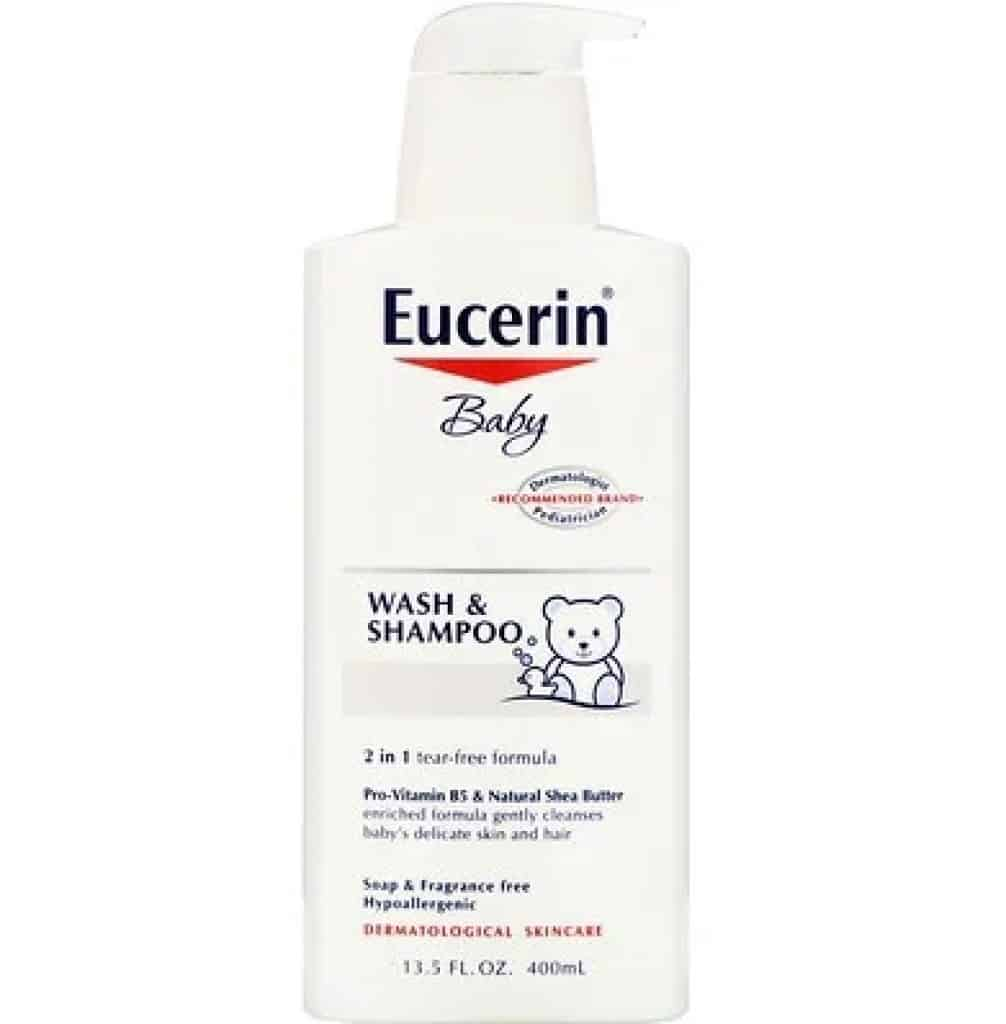 شامبو وغسول الأطفال Eucerin