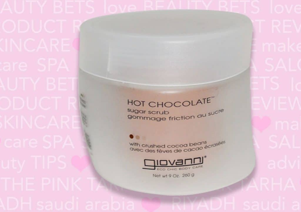 جيوفاني مقشر البشرة بالسكر والشوكولاتة الساخنة Giovanni Hot Chocolate Sugar Scrub