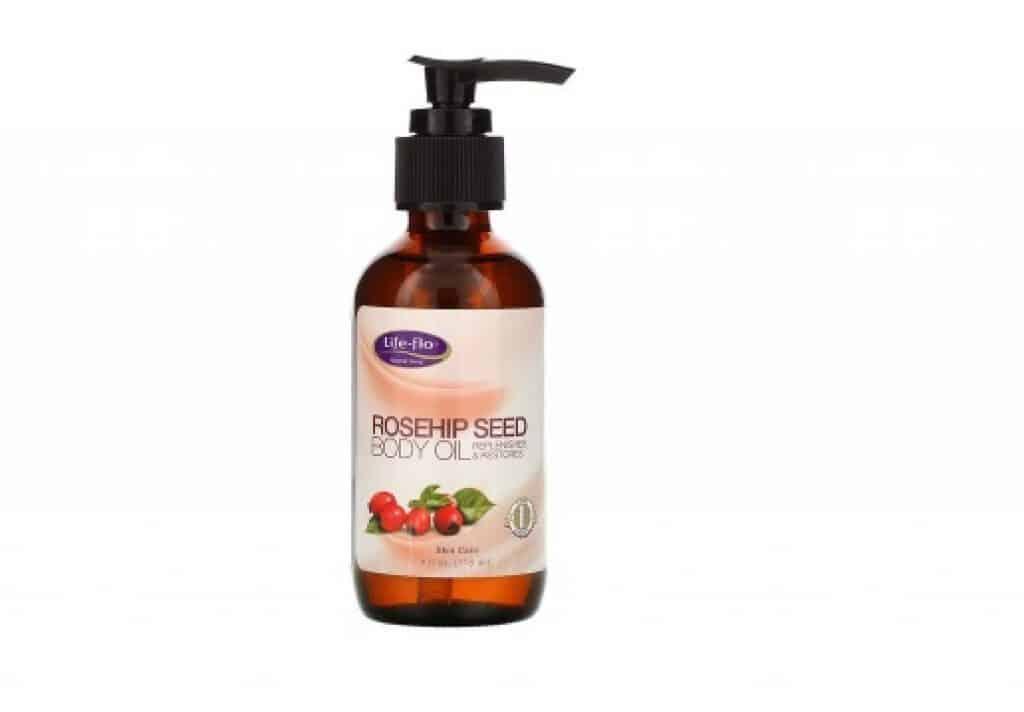 زيت بذور ثمر الورد النقي Life-flo افضل منتجات اي هيرب لتفتيح الجسم