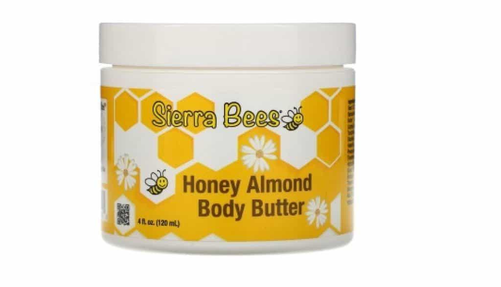 زبدة الجسم باللوز والعسل سييرا بيز Sierra Bees افضل منتجات اي هيرب لتفتيح الجسم