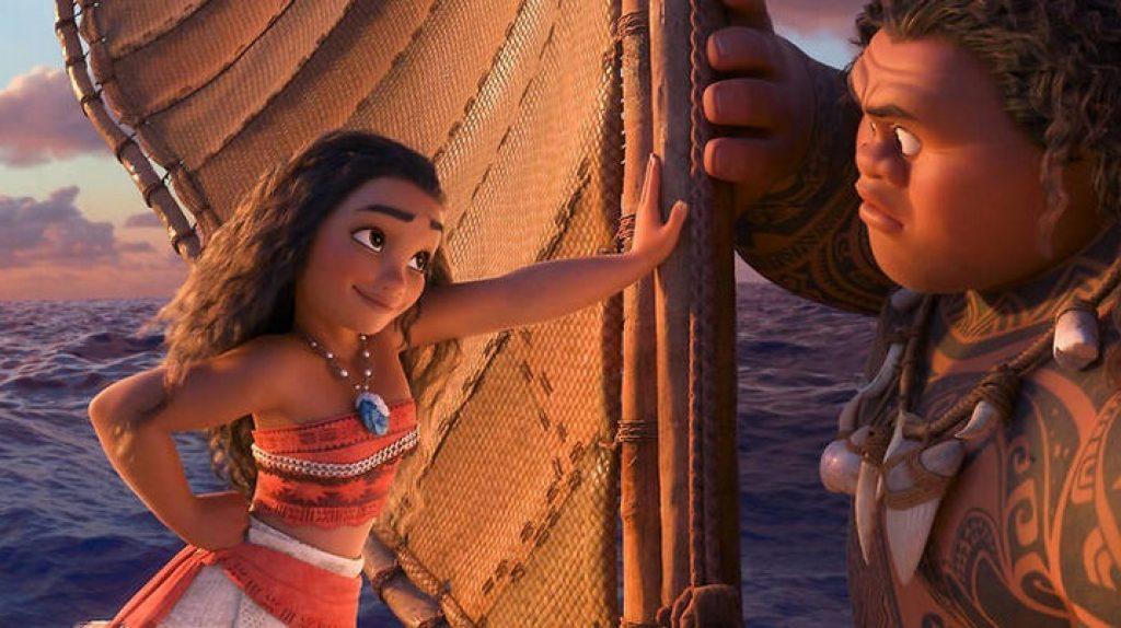 موانا (2016) أفضل أفلام عائلية Netflix