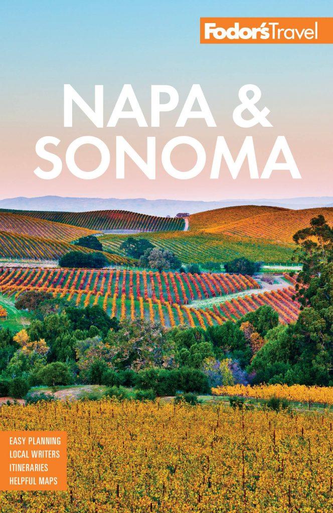 أفضل كتب السفر إلى كاليفورنيا (Fodor's Napa & Sonoma